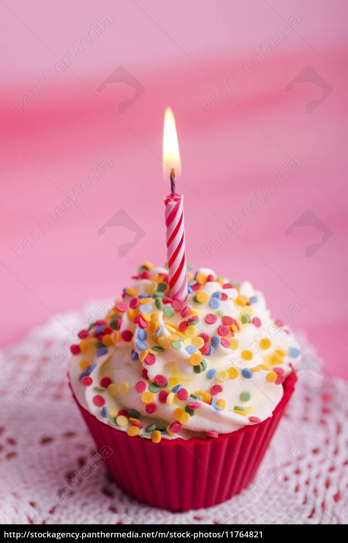 Cupcake Geburtstag Muffin Stockfoto 11764821 Bildagentur