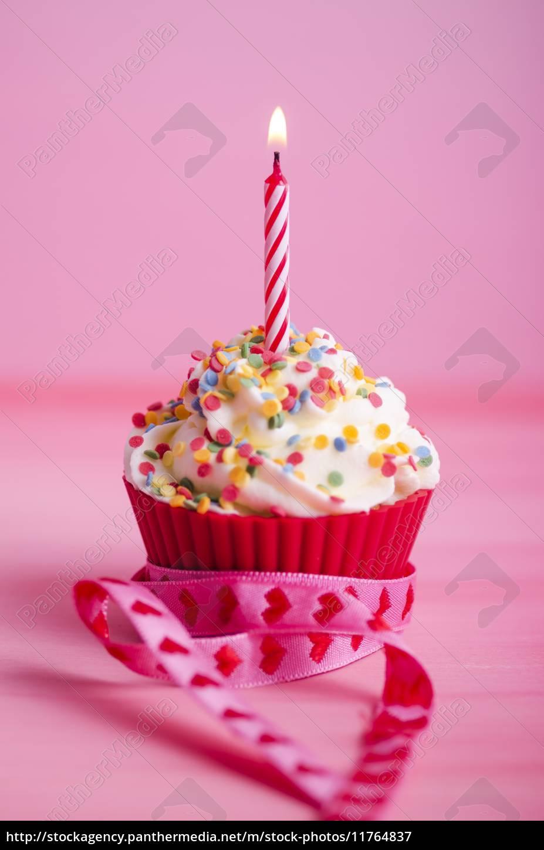 Cupcake Geburtstag Muffin Lizenzfreies Bild 11764837