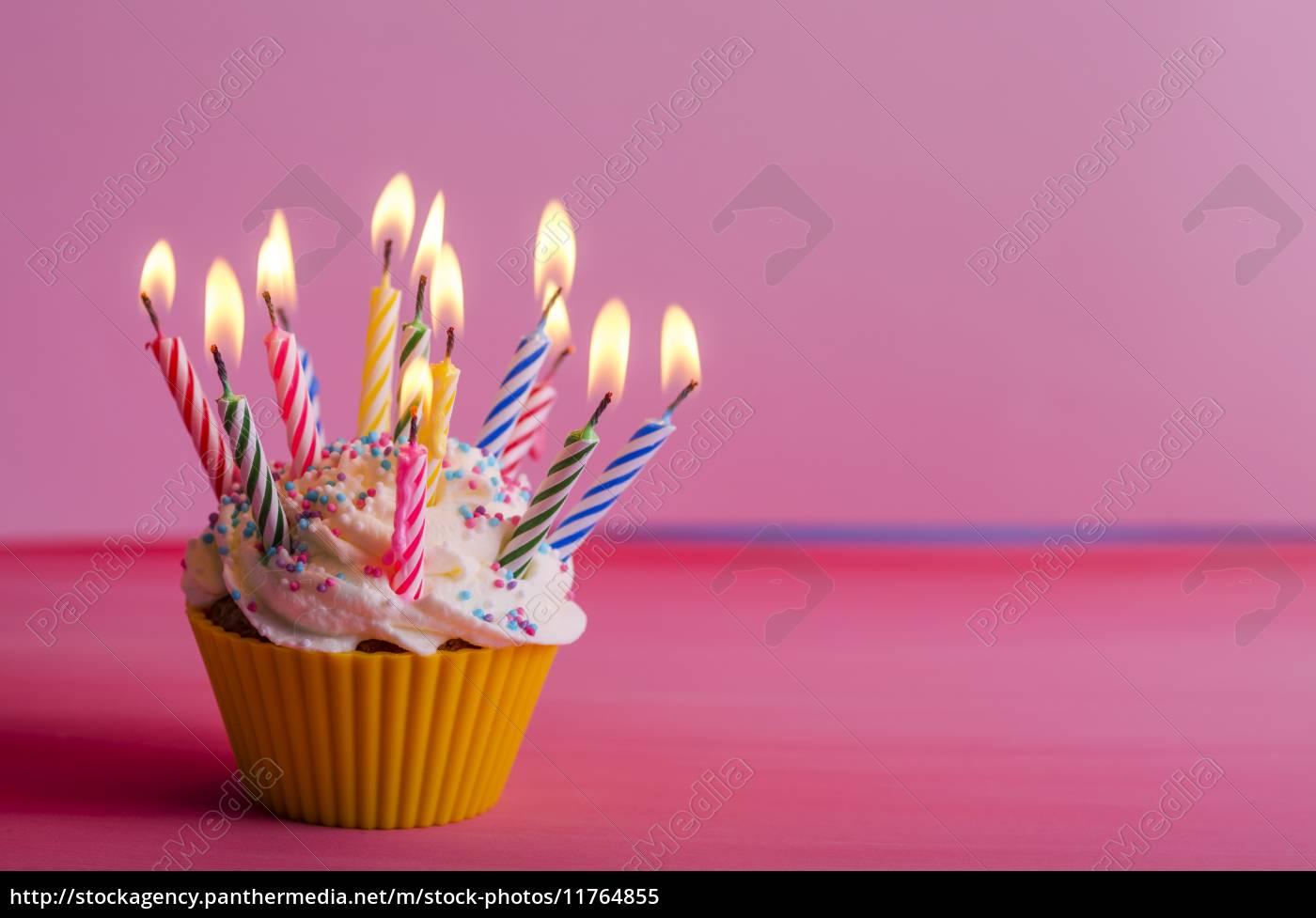 Cupcake Geburtstag Muffin Lizenzfreies Bild 11764855