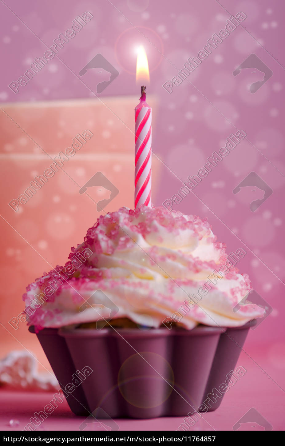 cupcake geburtstag muffin stockfoto 11764857 bildagentur panthermedia. Black Bedroom Furniture Sets. Home Design Ideas