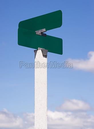 unbelegte zeichen kreuzungs strassen alleen zeichen