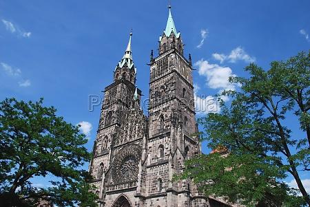 sankt st lorenz church nuremberg