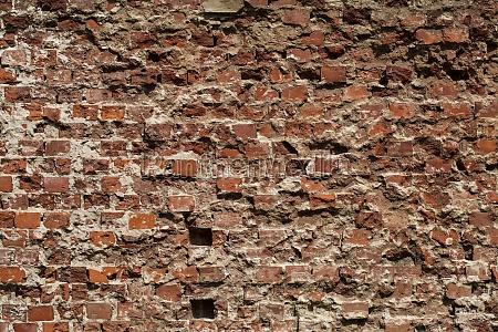 alte gruselige hintergrund einer ziegelmauer textur