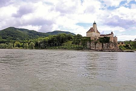 the danube at schoenbuehel castle