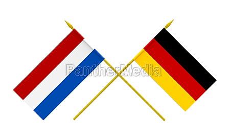 deutschland brd bundesrepublik deutschland fahne niederlande