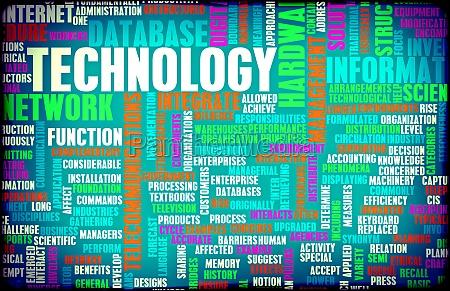 technologie konzept