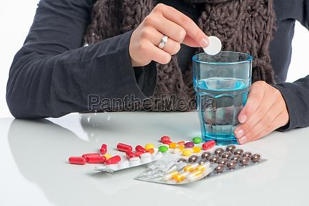 viele, verschiedene, medikamente, - 11819519