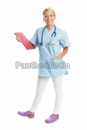 nurse with act