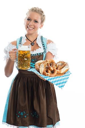 bayrin, mit, bier, und, brezn - 11823417