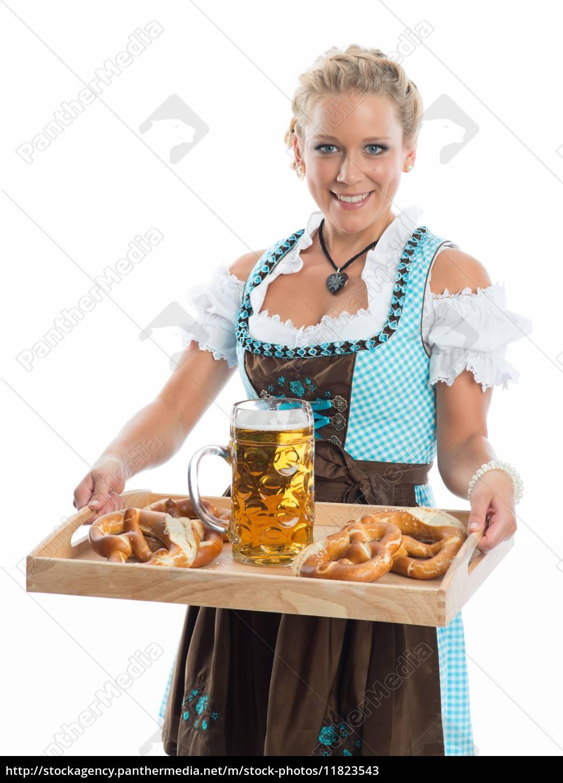 bayrin, mit, bier, und, brezn - 11823543