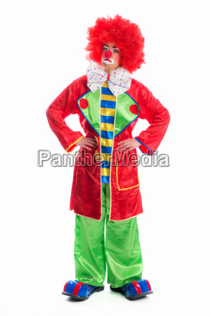 trauriger, clown, - 11823141