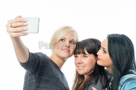 best girlfriend selfie