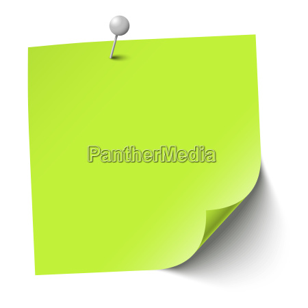 colored sticky paper with pin needle