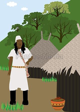 indianerstamm kogi