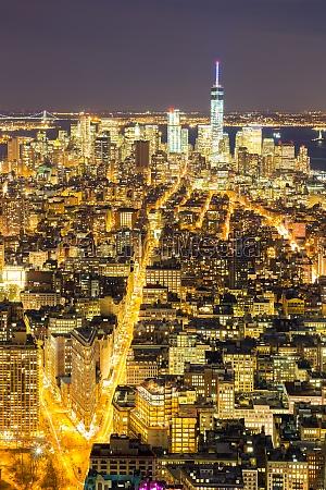 skyline von new york city