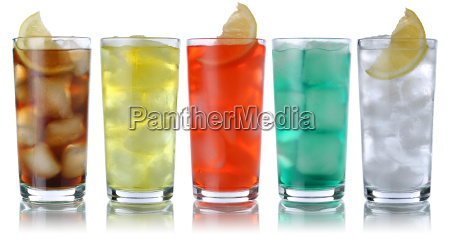 getraenke mit cola und limonade