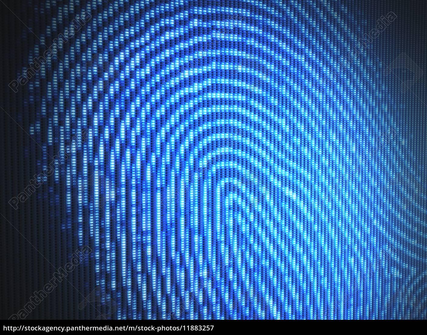 fingerabdruck - 11883257