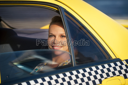 people travelling business woman in yellow