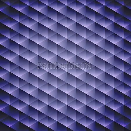 dunkelblaue geometrische kubische hintergrund