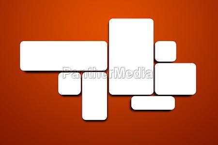 leere bilder an der roten wand stockfoto 11915325. Black Bedroom Furniture Sets. Home Design Ideas