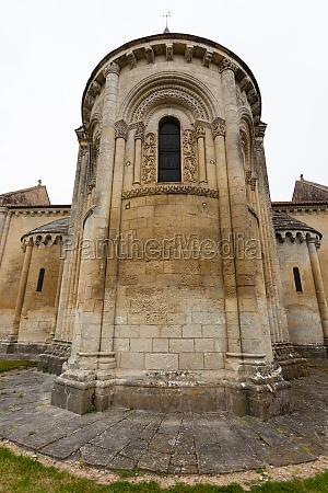 aulnay de saintonge church abse