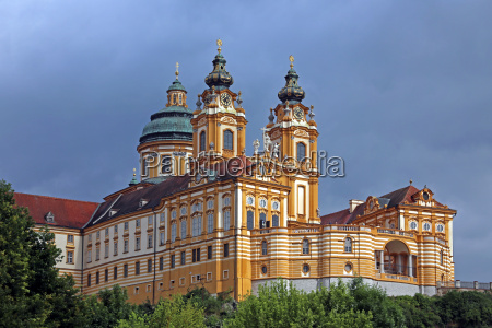 benedictine abbey of melk from the