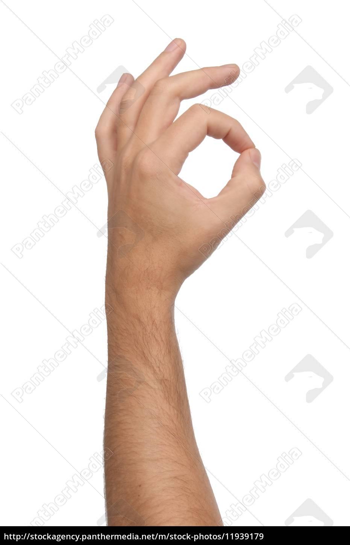 Ok Zeichen Hand