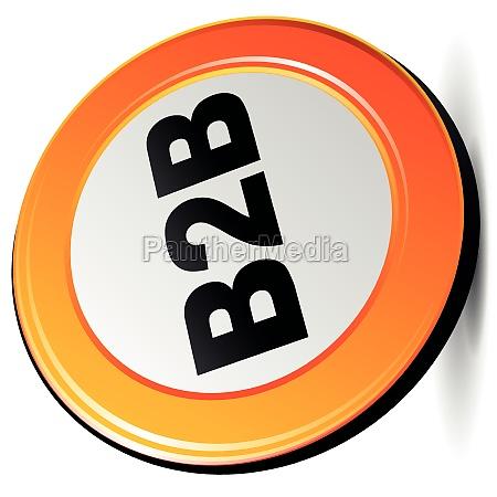 vector b2b icon