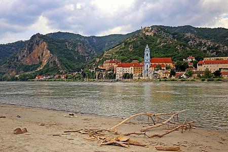 danube beach opposite of duernstein