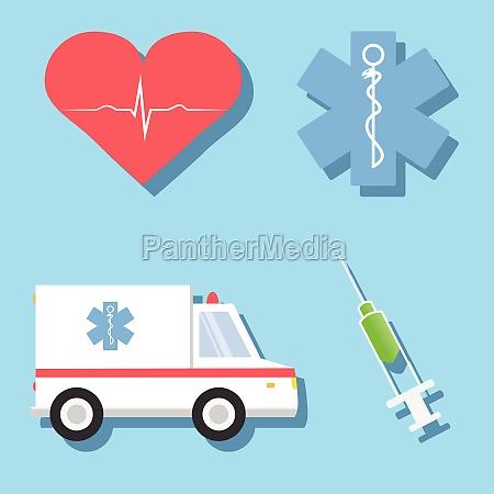 karikatur abbildungen von medizinischen verwandte objekte
