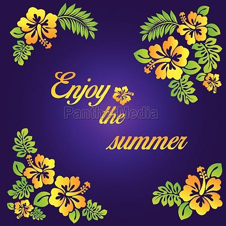 geniessen sie den sommer purpurrote