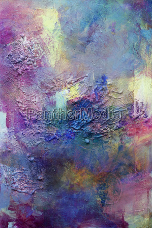 pastose abstract painting
