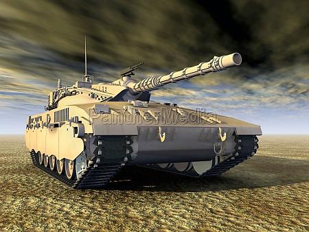 israelischer kampfpanzer