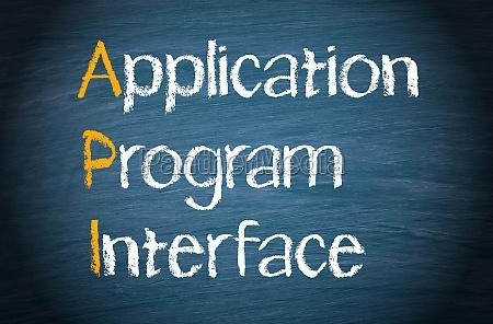 api application program interface