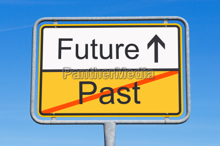 future and past concept sign