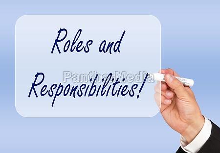 rollen und verantwortlichkeiten