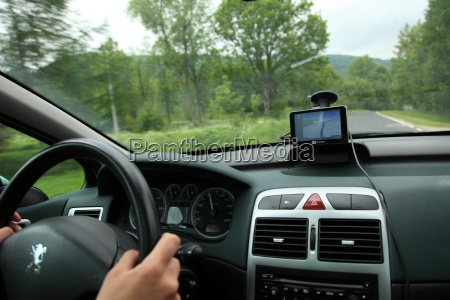 auto satelitennavigation gps geraet