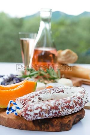cheese ham plate a la provence