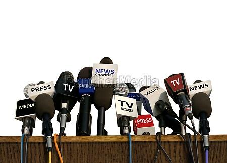 presse und medienkonferenz