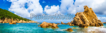 ozean kueste szenische panoramablick in costa