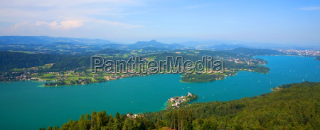 woerthersee in OEsterreich