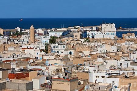 stadt sousse in tunesien