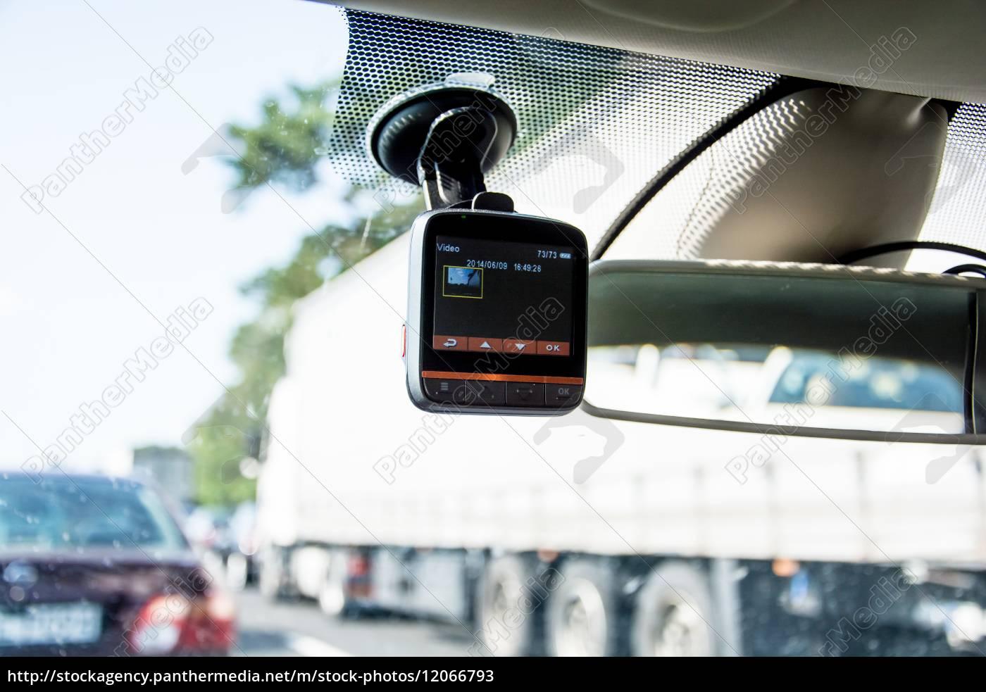 auto-video-recorder, auf, dem, fenster, instaliert - 12066793