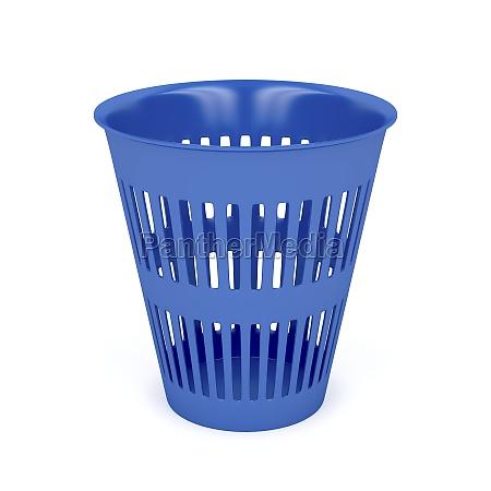 freisteller haushalt korb abgeschieden abfall plastik