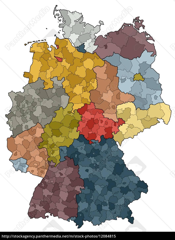 Karte Landkreise Deutschland