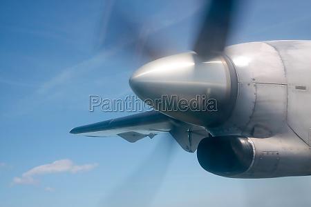 laufender propeller
