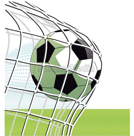 fussball torschuss