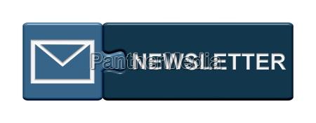 puzzle button blau newsletter