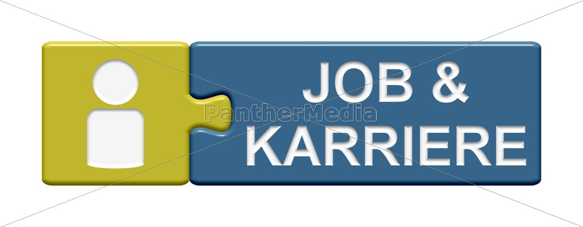 puzzle-button:, job, und, karriere - 12209802