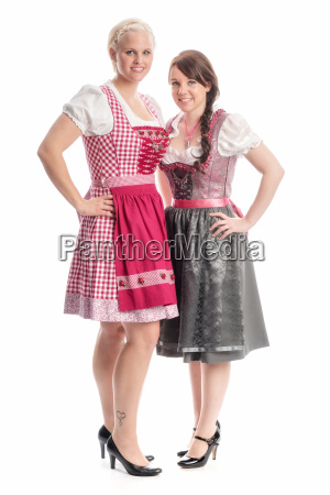 2 girls on the oktoberfest